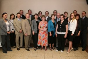 Business Week representatives attended a reception at the U.S. Embassy in Warsaw